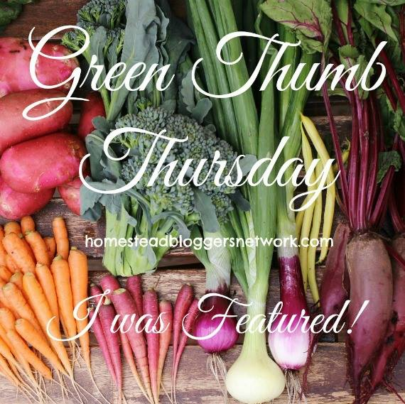 Green Thumb Thursday weekly gardening blog hop link up featured post