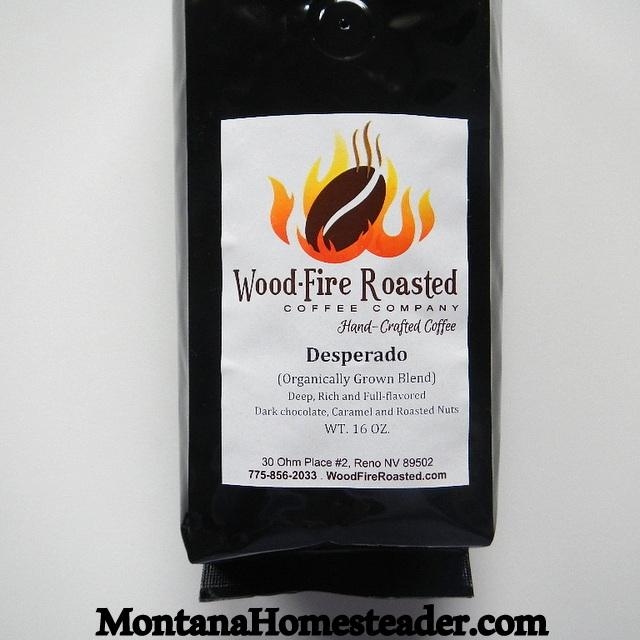 Wood Fire Roasted Coffee Company  organic coffee beans