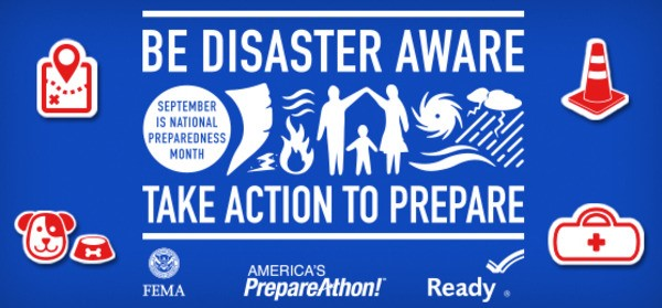 National Preparedness Month $100 Amazon Gift Card Giveaway