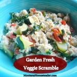 Garden Fresh Veggie Scramble