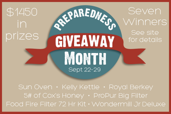 National Preparedness Month Prepared Bloggers Giveaway