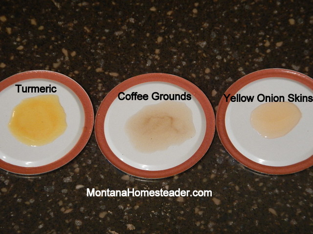 How to make and use a natural dye to tie dye fabric clothes and tshirts | Montana Homesteader