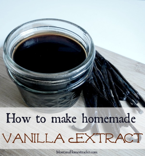 glass jar and vanilla beans making homemade vanilla extract