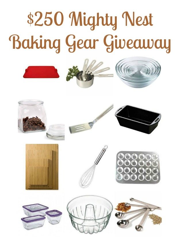 Mighty Nest Fall Baking Giveaway $250 ecofriendly kitchen gear | Montana Homesteader