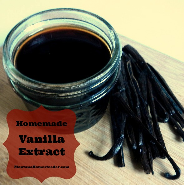 vanilla extract recipe and an easy homemade gift idea | Montana Homesteader