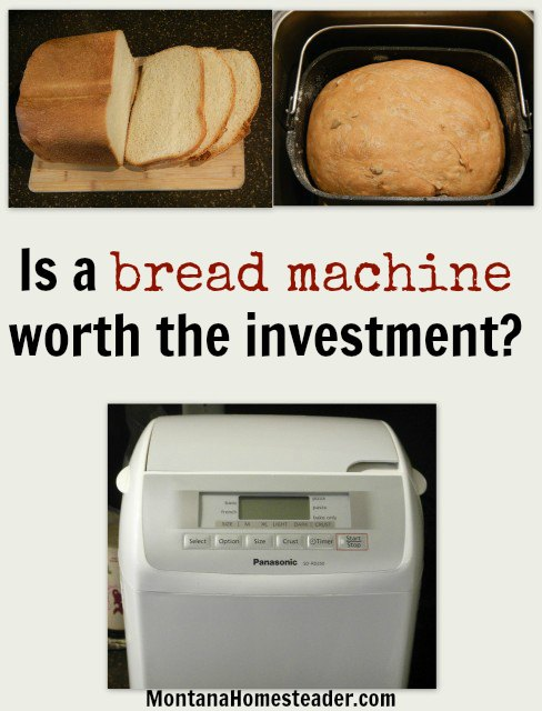 Is a bread machine worth the investment? |  Montana Homesteader