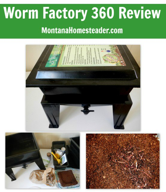 Worm Factory 360 review | Montana Homesteader