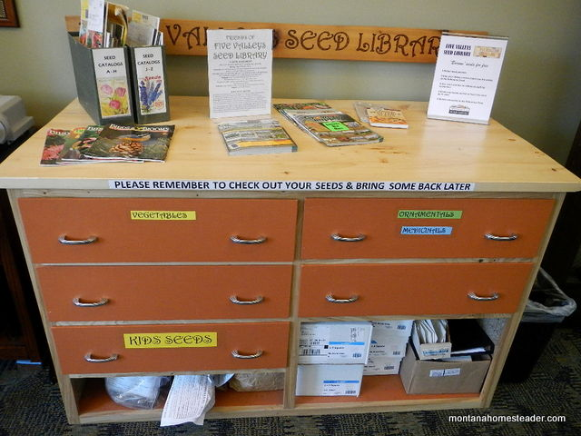 Five Valleys Seed Library in the Missoula Public Library | Montana Homesteader