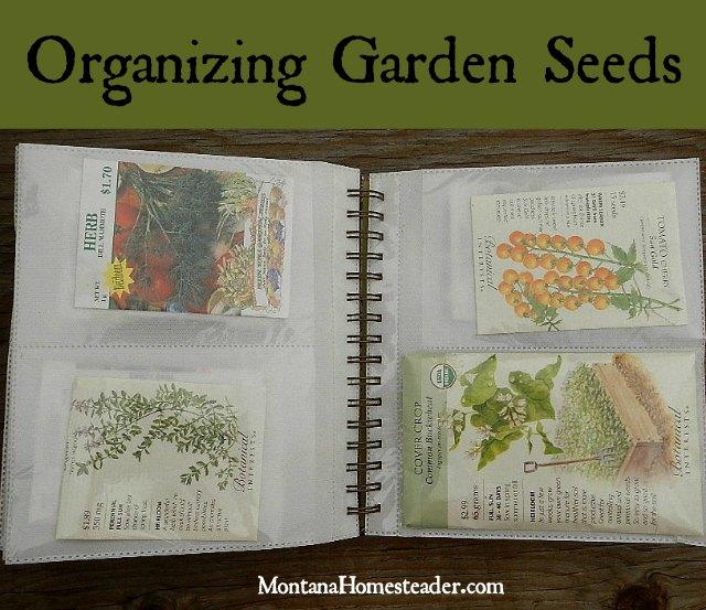 Organizing Garden Seeds | Montana Homesteader