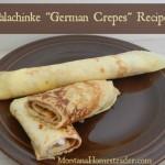 Palachinke Recipe