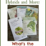 Heirloom Seeds, Hybrids and More: What's the Difference?