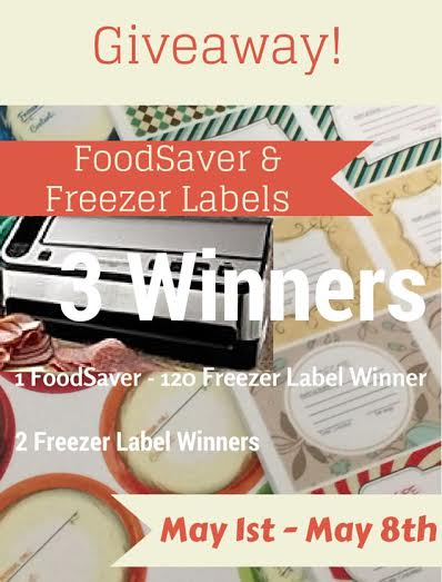 food saver giveaway