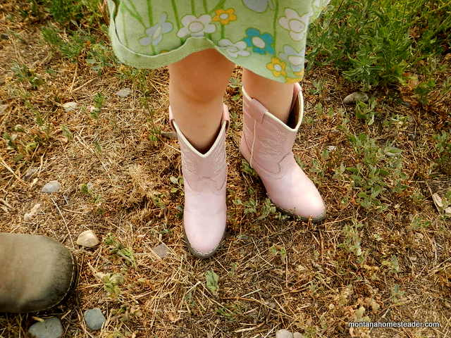 Saving money by buying second hand kids clothes | Montana Homesteader