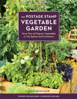 The Postage Stamp Vegetable Garden- Learn how to grow tons of organic vegetables in small spaces! |  Montana Homesteader
