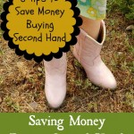 Saving Money By Buying Second Hand