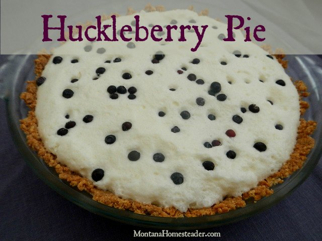 Huckleberry pie recipe | Montana Homesteader