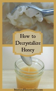 How to decrystallize raw honey | Montana Homesteader