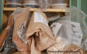 Ideas on how to reorganize a spice cupboard and spice storage tips | Montana Homesteader