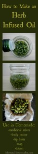 How to make and use an herb infused oil   Montana Homesteader