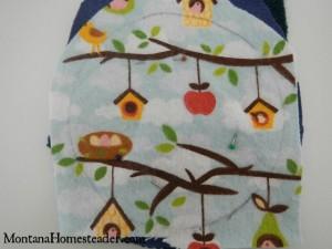 DIY reusable washable breast pads for nursing breastfeeding | Montana Homesteader