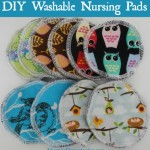 DIY washable nursing pads