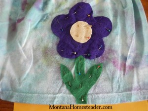 How to make a t shirt skirtfrom an old tshirt for girls | Montana Homesteader