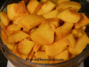How to make pumpkin and winter squash puree and preserve it   Montana Homesteader