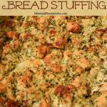 Classic bread stuffing recipe made from scratch