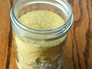 DIY chicken bouillon powder from scratch