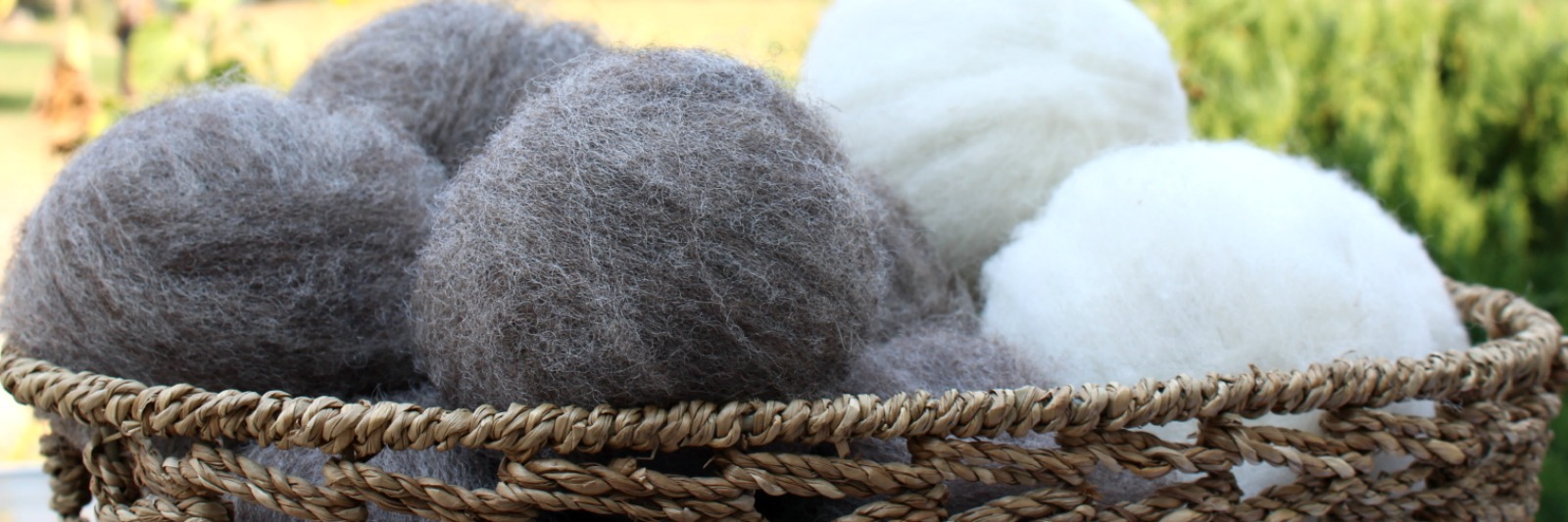 Sweathouse Creek Creations wool dryer balls